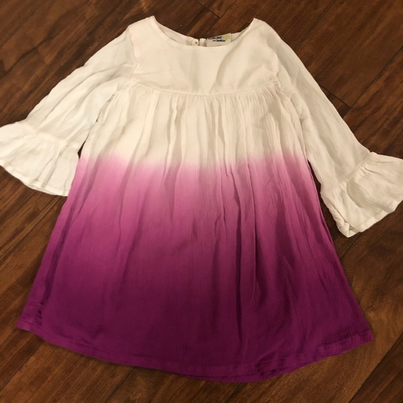 Girls Toddlers 2 Tone Dress Size 4T